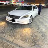 للبيع لكزس LS460 L موديل 2007 سعودي