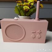 راديو وسماعة اسبيكر لون وردي pink