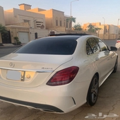 مرسيدس c400 4matic amg kit V6