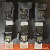 Nikon SB-800 طقم فلاش مع ادابتور