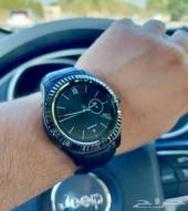 الساعة الذكية بنفس تصميم رلكس الان وبعرض رائع