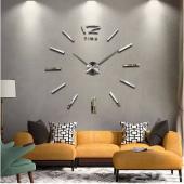 ساعات جدار ثلاثية الأبعاد حجم كبير ومميزة