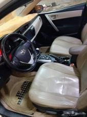 سيارة كورولا 2014 بصمة