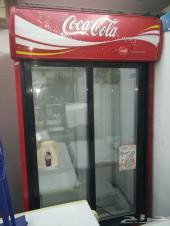 ثلاجه عرض بابين كوكا كولا