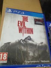 شريط سوني رعب The Evil Within