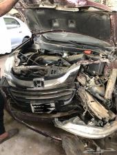 سيارة هوندا اوديسي 2015 مصدومة من الامام