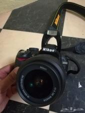 كاميرا نيكون احترافيه نظيفه
