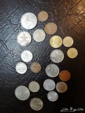 عملات معدنية اوروبا وامريكا للبيع -العرض (7)-