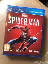 للبيع لعبه سبايدرمان PS4 مدبلج عربي شبه جديد
