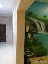 شقه للايجار  عوائل ثلاث غرف