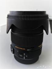 عدسة سيقما للكانون للبيع - Sigma 17-50mm f2.8