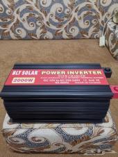 محول قوة 2000 واط كهرباء 12 الى 220v