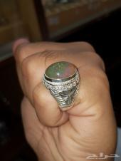 خاتم اوبال اثيوبي لون مميز جدا
