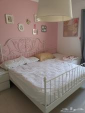سرير ايكيا حديد