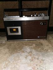 مسجل وراديو سانيو القديم الياباني شغال