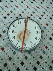 ساعة حائط أمريكية قديمة (لم تستخدم)