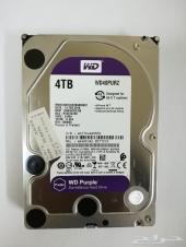 هارديسك - 4 تيرا wd purple