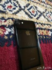 للبيع ايفون 7 عادي اللون اسود 256 قيقا