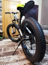 دراجه جديده كفرات عريضه تنصفط
