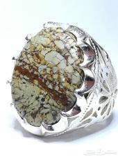 خاتمين عقيق يماني طبيعي من نوع اخر