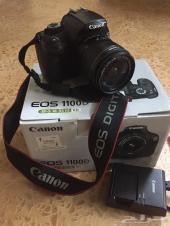 للبيع كاميرا كانون D1100 EOS