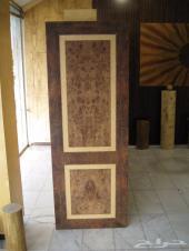 أبواب وديكورات خشبيه