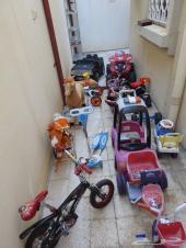 مجموعة ألعاب أطفال مستعملة للبيع دفعة وحدة