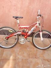 دراجه رياضية المزاد لساعة واحدة فقط
