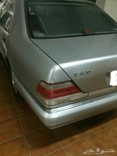 مرسيدس شبح S320 وارد اليابان موديل 1997