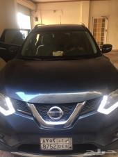 Nissan X-trail لون نادر مضلله ومحافظ عليها...