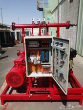 مضخة 120 جالون 3 نظام (ديزل - جوكي- كهرباء)