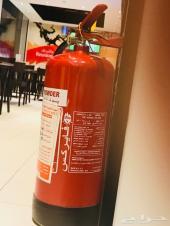 طفايات حريق 6 كليو جديدة أسعار مميزة