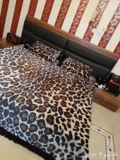 غرفة نوم تركيه فاخره بحاله ممتازه