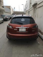 للبيع سيارة انفنتي FX35 موديل 2008 فل كامل