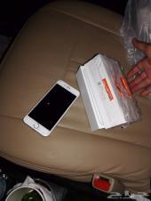 جوال ايفون 6 عادي 64 قيقا مع كرتون تشليح