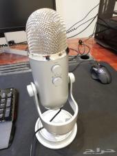 مايك بلو ييتي جديد blue yeti microphone