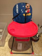 كرسي طعام ميكي ماوس 150بدمام