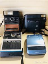 مجموعه كاميرات فوريه قديمه أنتيك