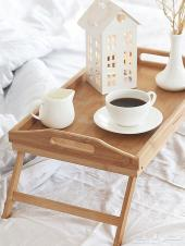 طاولة سرير قابلة للطي