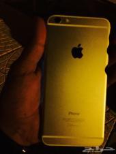 للبيع ايفون 6 بلس ذاكره اربع وستين ذهبي