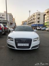 Audi A8 فل كامل 8 سلندر 2014
