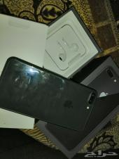 للبيع ايفون 8 بلس اللون فلكي اخو الجديد