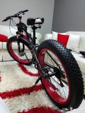 دراجه للبر والطرق الوعره تتصفط لسهولة نقلها