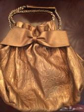 حقيبة ماركة كارولينا هيريرا CH فخمة ذهبي