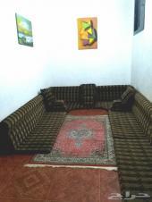 شقة مفروشة  4 غرف للايجار سنة دراسية او كاملة