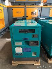مولد كهرباء 25 كيلو يشغل 5 مكيفات ياباني كاتم