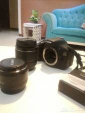 كاميرا كانون 600D نظيفة جدا للبيع