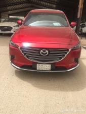 مازدا CX9 فل كامل أحمر موديل 2018