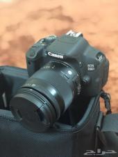 كاميرا كانون D700 مع عدسة