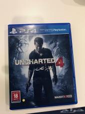 لعبة انتشارتد 4 Uncharted 4 للبيع